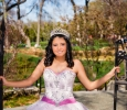 Quinceanera portrait