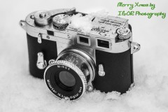 Leica Minox in the Xmas Snow