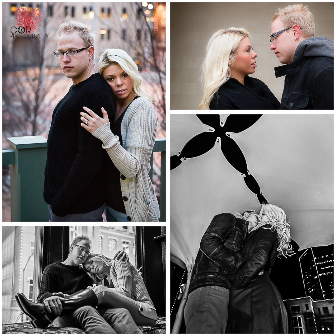lauren greg engagement watermark Engagement photography @ Sundance Square